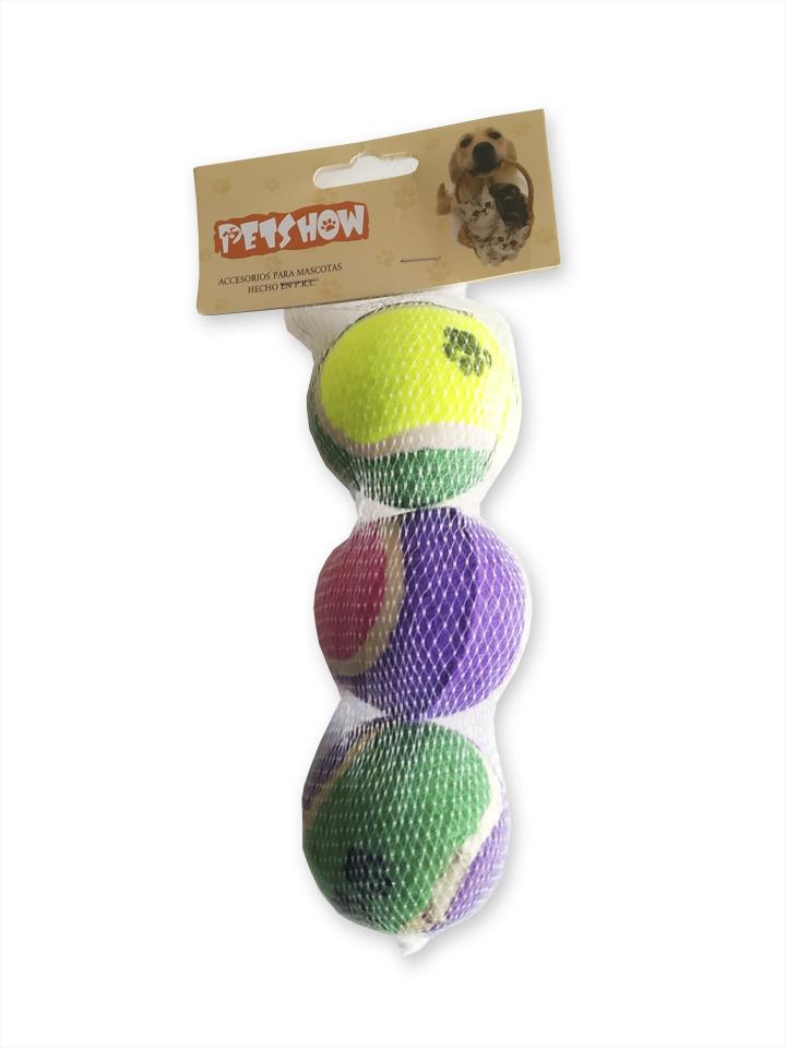 Set de pelotas tripack