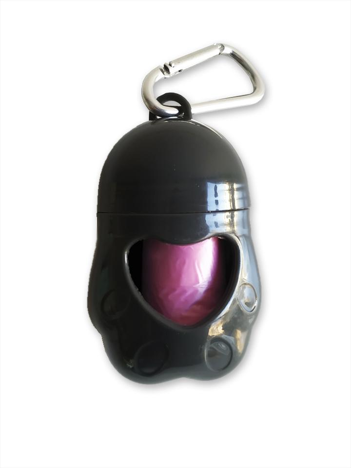 Dispensador de bolsas Negro