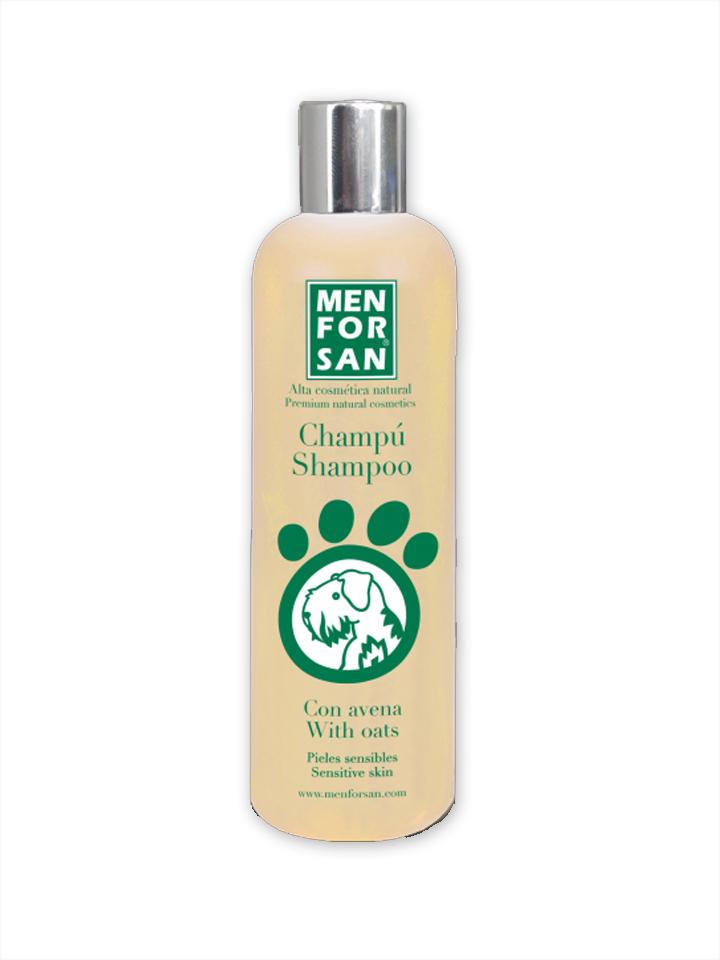 Shampoo con avena para perros