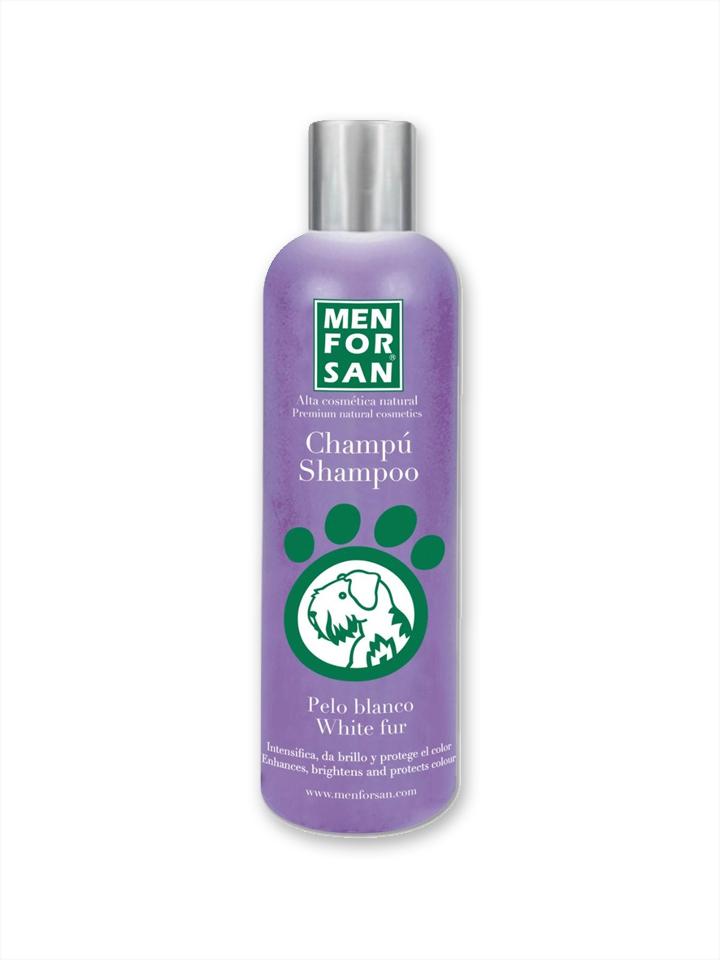 Shampoo pelo blanco para perros