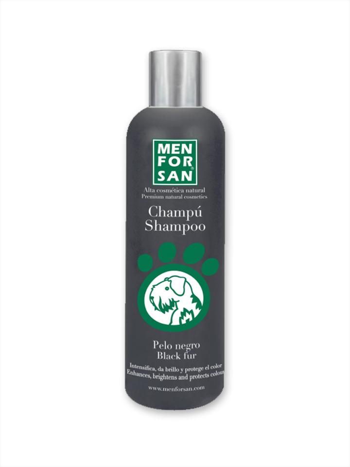Shampoo pelo negro para perros