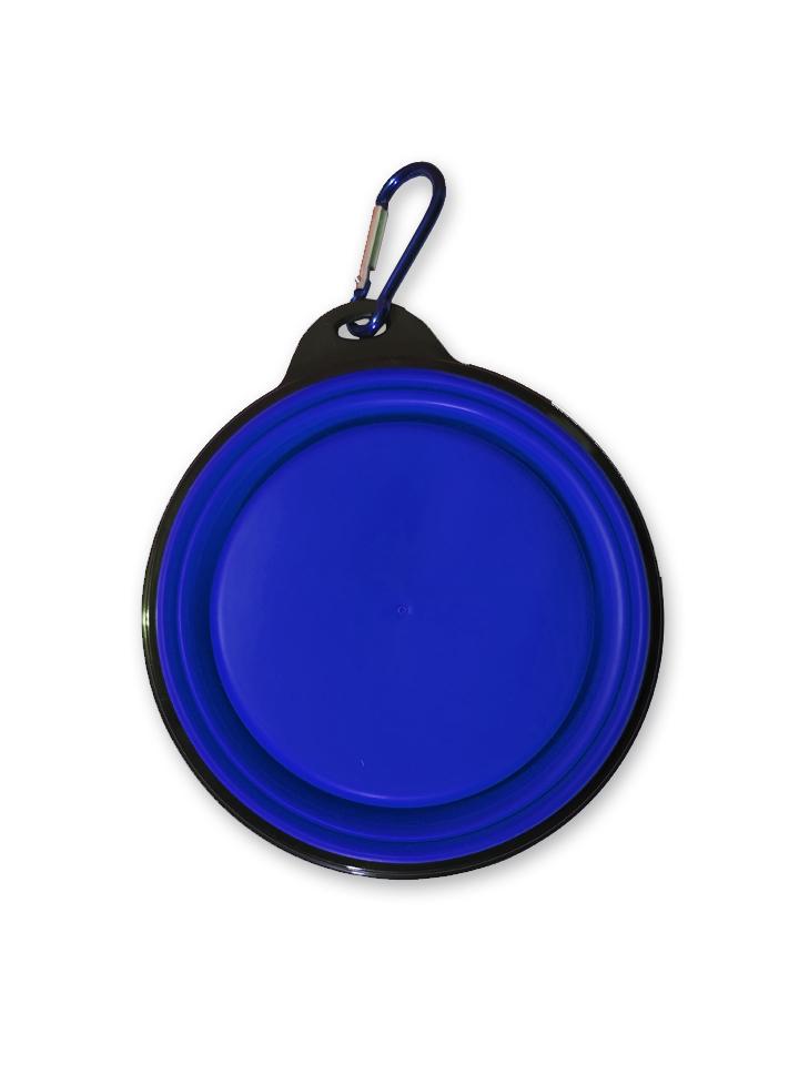 Plato Plegable Azul