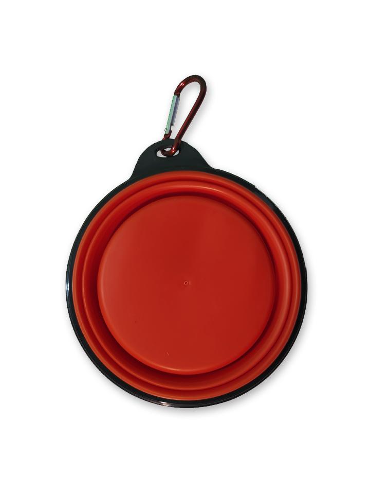 Plato Plegable Rojo