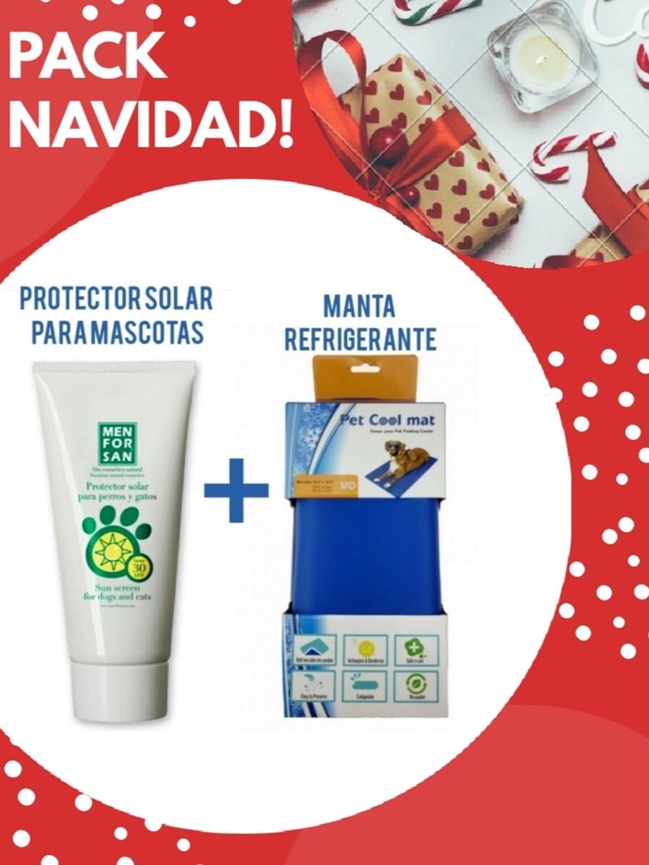 PACK BLOQUEADOR SOLAR + MANTA REFRIGERANTE!!